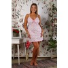 Сорочка Бретелькамелкий Цветочек А2 р 54 фото