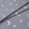 Мерный лоскут поплин 150 см 394/17 цвет серый фото