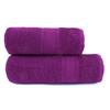 Полотенце велюровое Эконом 70/130 см цвет фуксия фото