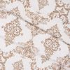 Ткань на отрез бязь плательная б/з 150 см 8105 Дамаск цвет кофе фото