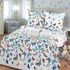 Постельное белье из бязи 10942/1 Бабочки Стандарт 2-х сп фото