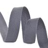Лента киперная 10 мм хлопок 2.5 гр/см цвет F311 темно-серый фото