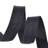 Лента киперная 10 мм хлопок 2.5 гр/см цвет F322 черный фото