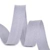 Лента киперная 10 мм хлопок 2.5 гр/см цвет S361 серый фото