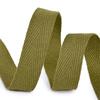 Лента киперная 15 мм хлопок 2.5 гр/см цвет F264 зеленый фото