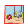 Платки носовые детские 20х20 Крош и ежик (12 шт) фото