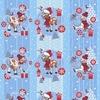 Вафельное полотно набивное 150 см 206821В Фердинанд 1 цвет голубой фото