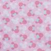 Отрез 150х150 Перкаль 150 см 13176/1 Минни цвет розовый фото