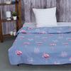 Детское постельное белье из бязи 1.5 сп 204251 Ванильное небо 1 син фото