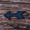 Термоаппликация ТАВ105 стрела синяя 8,5*3см фото