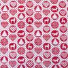 Ткань на отрез поплин 150 см 428/20 цвет красный фото