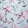 Ткань на отрез кулирка R11057-V5 Цветы на сером фото