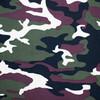 Ткань на отрез кулирка Камуфляж R4015-V1 цвет хаки фото