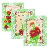 Набор вафельных полотенец 3 шт 50/60 см 549/2 Март цвет зеленый фото