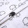 Мерный лоскут поплин 150 см 1820/1 Овечки фото