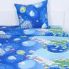 Детское постельное белье 13095/1 Пластилиновый космос 1.5 сп перкаль фото