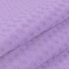Ткань на отрез вафельное полотно гладкокрашенное 150 см 240 гр/м2 7х7 мм цвет 622 сиреневый фото