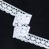 Кружево лен D1011 Белый 2,5см 1метр фото