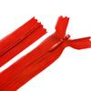 Молния пласт потайная №3 20 см цвет красный фото
