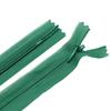 Молния пласт потайная №3 20 см цвет зеленый фото