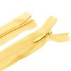 Молния пласт потайная №3 20 см цвет т-желтый фото