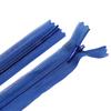 Молния пласт потайная №3 20 см цвет т-синий фото