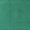Полотенце махровое ножки 700 гр/м2 Туркменистан 50/70 см цвет темно-зеленый фото