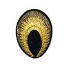 Аппликации термо 3852-1 (4х5,5) Павлиний глаз цвет золото фото