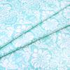 Ткань на отрез поплин 220 см 115 г/м2 391/16 Дамаск цвет мята фото