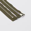 Молния металл №5СТ никель н/р 18см D565 хаки фото