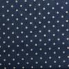 Ткань на отрез лен TBY-DJ-12 Горох цвет синий фото