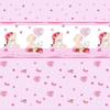 Ткань на отрез поплин 150 см 1636 цвет розовый фото