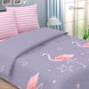 Простыня поплин 736-1 Фламинго Евро фото