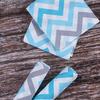 Детская пеленка поплин 75/120 см 1797/3 цвет бирюза фото