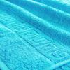 Полотенце махровое Туркменистан 70/135 см цвет бирюзовый BLUE ATOLL фото