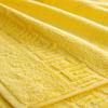 Полотенце махровое Туркменистан 100/180 см цвет лимон фото