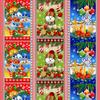 Вафельное полотно набивное 150 см Новогодняя Сказка 11492/1 фото