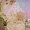 Набор в кроватку 7 предметов с оборками Зоо фото