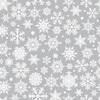 Ткань на отрез бязь плательная 150 см 112 Снежинки фото