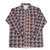 Рубашка мужская фланель клетка 44-46 цвет коричневый модель 2 фото
