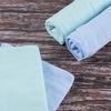 Набор детских пеленок фланель 4 шт 75/120 см Голубой/Фисташковый фото