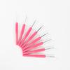 Набор крючков розовая ручка(8шт) фото
