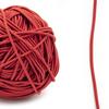 Резинка шляпная 0,25см красная 1 метр фото