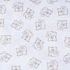 Ткань на отрез поплин 150 см 393А/18 цвет кофе фото