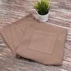 Набор для сауны вафельный мужской 2 предмета цвет коричневый фото