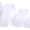 Лента киперная 10 мм хлопок 2.5 гр/см цвет F101 белый фото