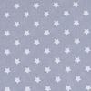 Мерный лоскут поплин 150 см 390/17 Звездочки цвет серый 2,7 м фото