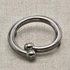 Пуговица металл ПМ24 черный никель уп 12 шт фото