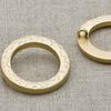 Пуговица металл ПМ42 матовое золото уп 12 шт фото