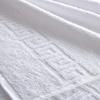 Полотенце махровое Туркменистан 100/180 см белое фото